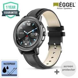 EGGEL smartwatch 43mm full hd touchscreen 1.3inch garansi resmi 1 thn
