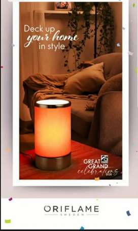 Amber night lamp