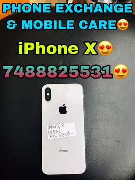 IPhone X (256GB) Silver In Brand New Condition Available Here