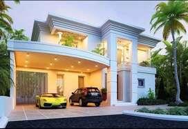 Rumah mewah berkolam renang bunyamin