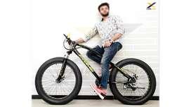 X-TREX Fat Tyre Cycle : Mountain Bike 26T
