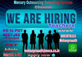 Middle level teachers for cbse school