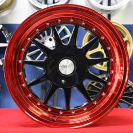 Velg IKIMASU 1032 HSR Ring.16 Lebar.7,5-8,5 BKRED