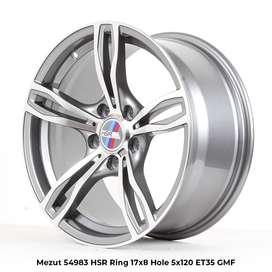 menjual model MEZUT 54983 HSR R17X8 H5X120 ET35 GMF