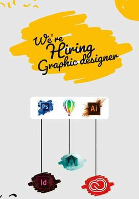 hiring for  a  creative graphic designer