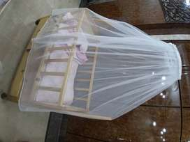 Kids Crate Swing Bed with Mosquito Net. (Baby Jhoola)