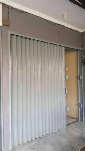 Foding gate pintu terbaik rolling door harmonika