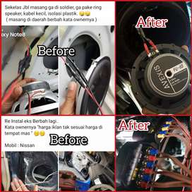 Standart Instalasi Car Audio | Boy Instaler