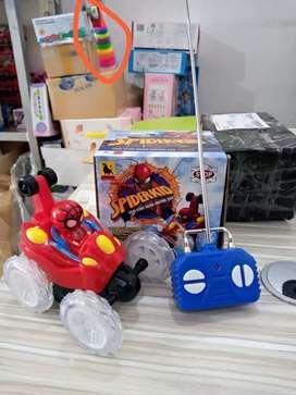 Mobil remot Spiderman rolling