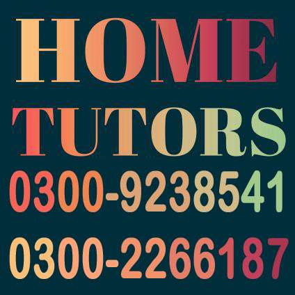 Home Tuitions For All Classes 0