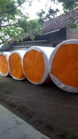 Gudang tandon air 1000 liter toren 3000 liter bahan plastik tiga lapis