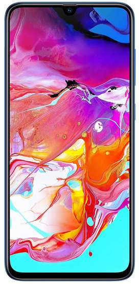 Samsung Galaxy A70 (Blue, 6GB RAM, 128GB Storage) 32MP+8MP+5MP triple