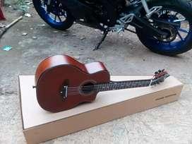 Gitar akustik cowboy 3/4 custom baru