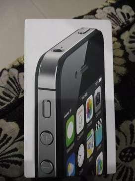 Apple I phone you 4S 8GB ram Black model... Year 2015