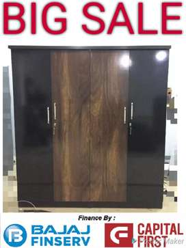 Four door wardrobe from Factory Outlet