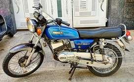 Yamaha Rx 100 Japan engine