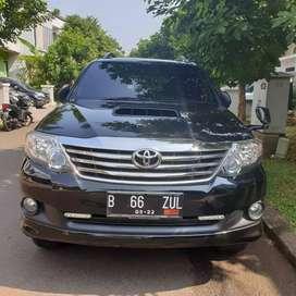 dijual murah fortuner G diesel vnt 2012 matik
