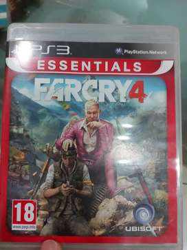 Play Station 3 Game CD-Far Cry 4