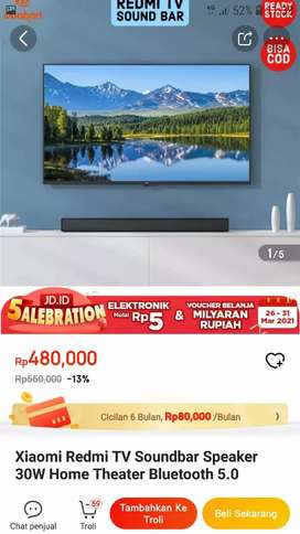 XIAOMI REDMI TV SOUNDBAR WIRED AND WIRELESS BLUETOOTH SPEAKER HIFI
