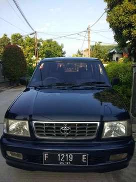 Toyota Kijang LGX diesel manual 2500cc th 2001 f kota, ban & aki baru