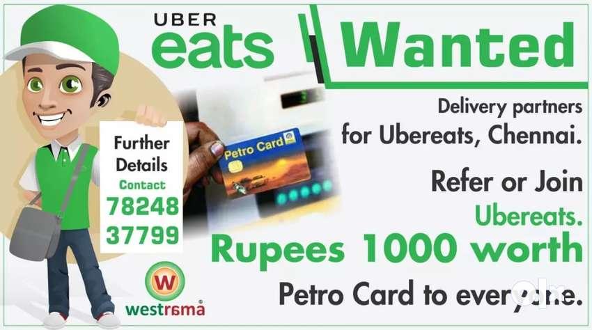 Hiring Food delivery partners at Chennai aeas 0