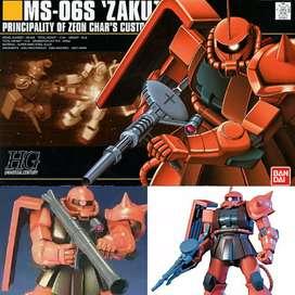 Bandai HG Zaku II Char Aznable Custom