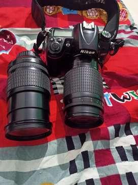 Nikon 7000d , double lens 18-150, 300