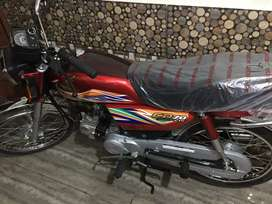 New honda cd 70 driving 312km only urgent sale Rs.72500 for