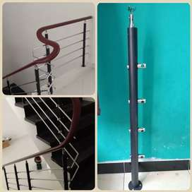 Railing tangga pagar tangga harga ekonomis