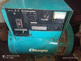 Dinamo Denyo Generator 10 KW