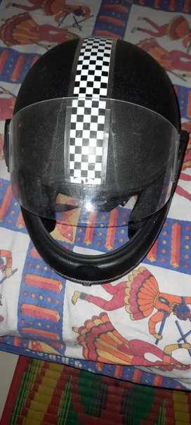 One time used Helmet