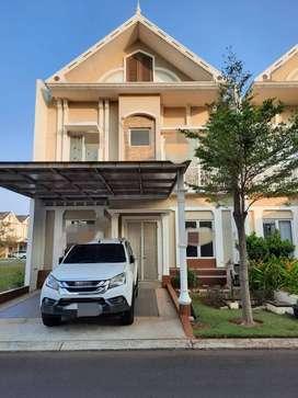 Dijual Rumah Cantik Modern 2 lantai di Cluster Thames Jakarta Garden C