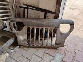 Jeep grill available