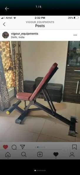 Adjustable multipurpose bench