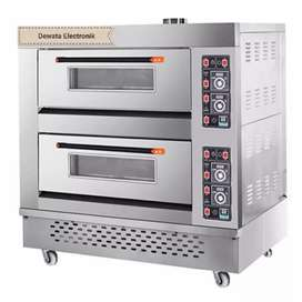 Oven Gas GETRA RFL-24SS (2 deck 4 Loyang) New