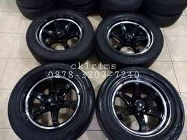 Black Lenso RT7 R20 BAN 285/50 ccok fortuner,pajero,hilux,triton dll