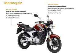 Motorcycle GPS Tracker Start SMS Engine Contro 100%l Free pta approved