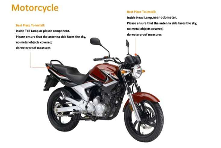 Motorcycle GPS Tracker Start SMS Engine Contro 100%l Free pta approved 0