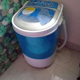 3 kg washing machine plus dryer  with free water filter worth 1800