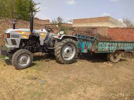 Good condition tractor+ DumperDono kharnday Kay lea phoens kary