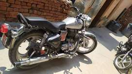 New bike any no problem and with new condition with silver colour