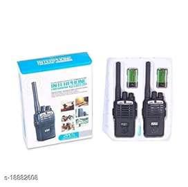 Kids playing walkie talkies