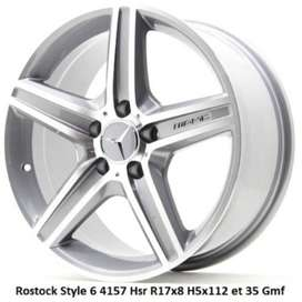 velg 2020 Rostock Style 6 4157 Hsr R17x8 H5x112 et 35 Gmf (1,3)