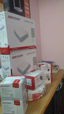 HIKVISION , GRANDEYE , CP PLUS CCTV Security solutions @ Sri Himalaya