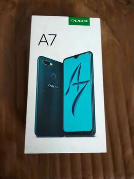 Oppo A7 in supermint condition