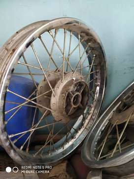 Royal Enfield classic 350 wheels