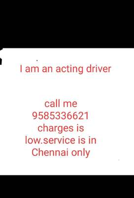 Acting driver, personal driver,driver