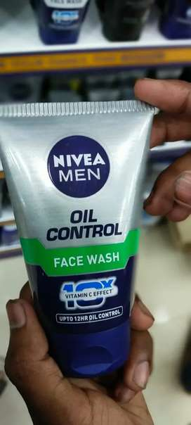 All types of  men and women face wash, shampoo and soap available