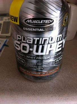 Suplemen Fitness Whey Muscletech Platinum Iso Whey 3,3lb Whey Isolate