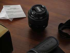 Yongnuo 85 mm f/1.8 for canon in mint condition